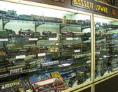The Museum has an outstanding collection of model locomotives from classic manufacturers such as Bing and Marklin