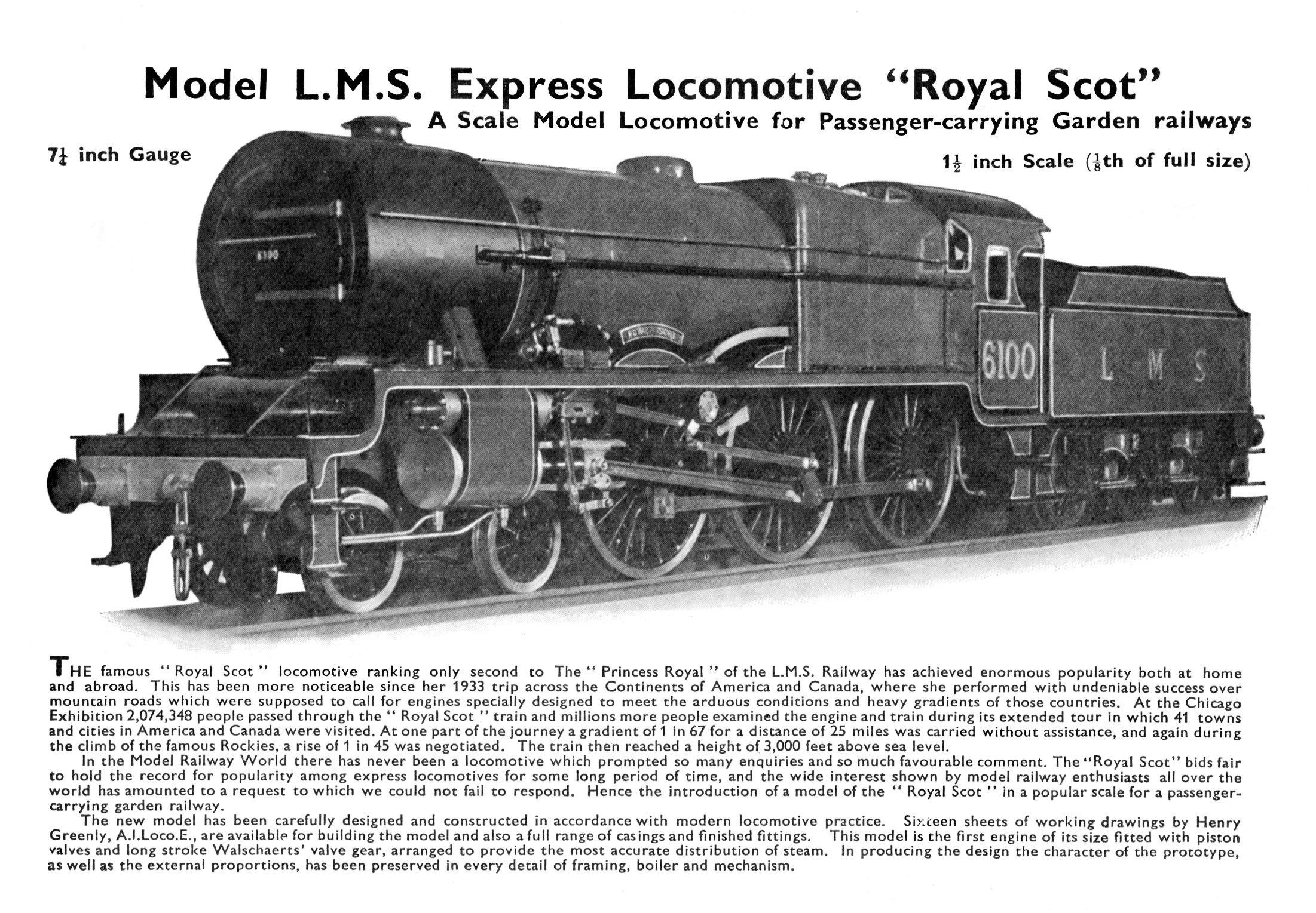 Royal Scots Steam Engine 1962 Poster