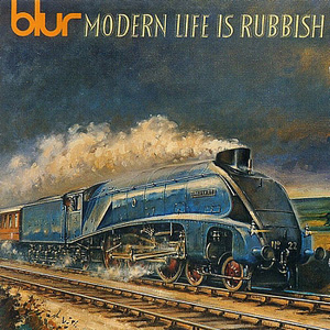 "Cover artwork for Blur's album, ""Modern Life is Rubbish"""