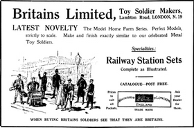 1923: Advertising: a higher-quality original is available on the Meccano Magazine Index website