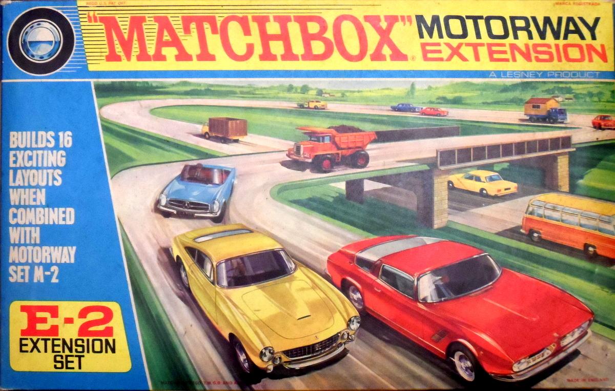 Matchbox Motorway Slotcar System 1960s