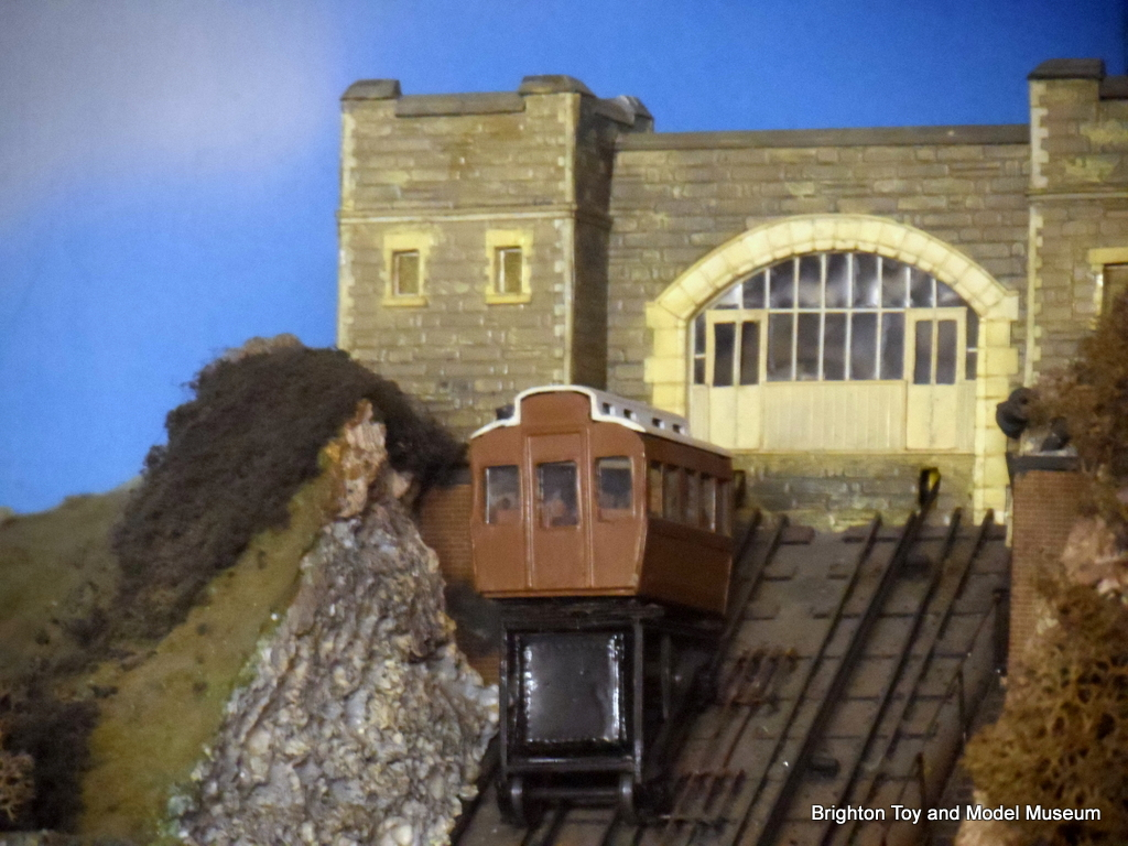Hastings East Hill Cliff Funicular Railway Model The