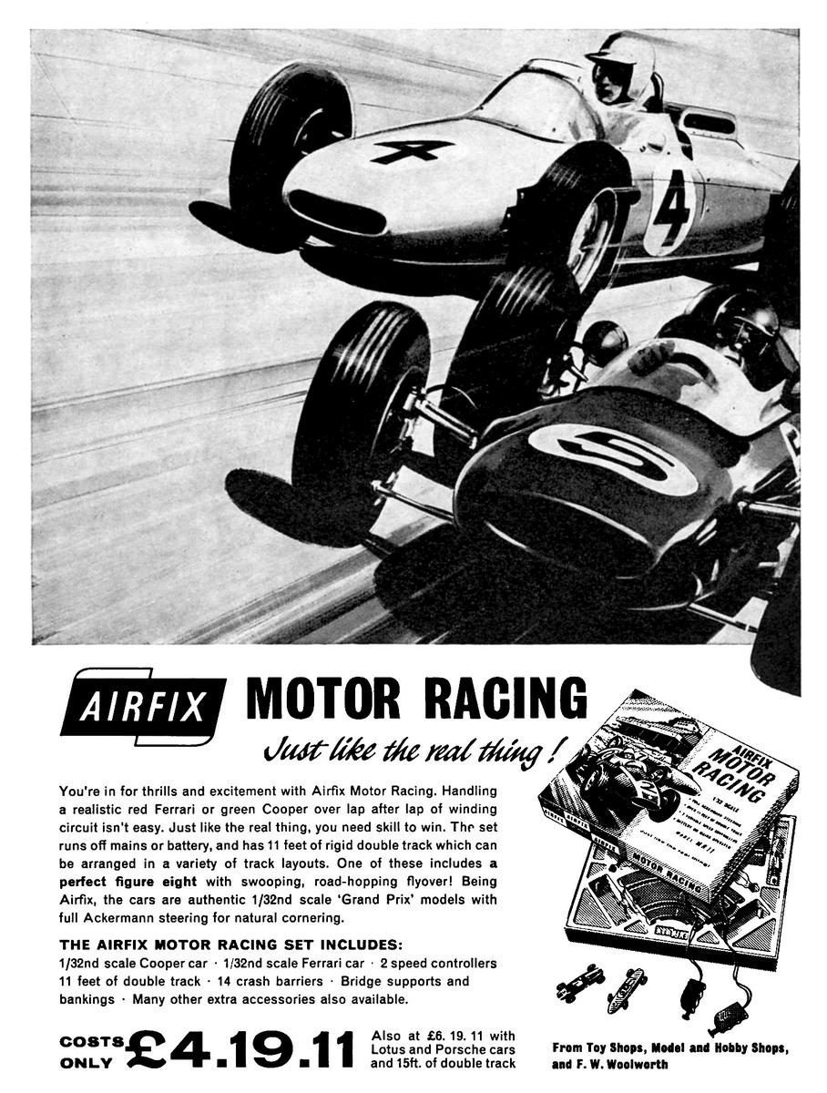 Airfix Motor Racing / MotorAce slotcar system (1962-1981), MRRC Ltd