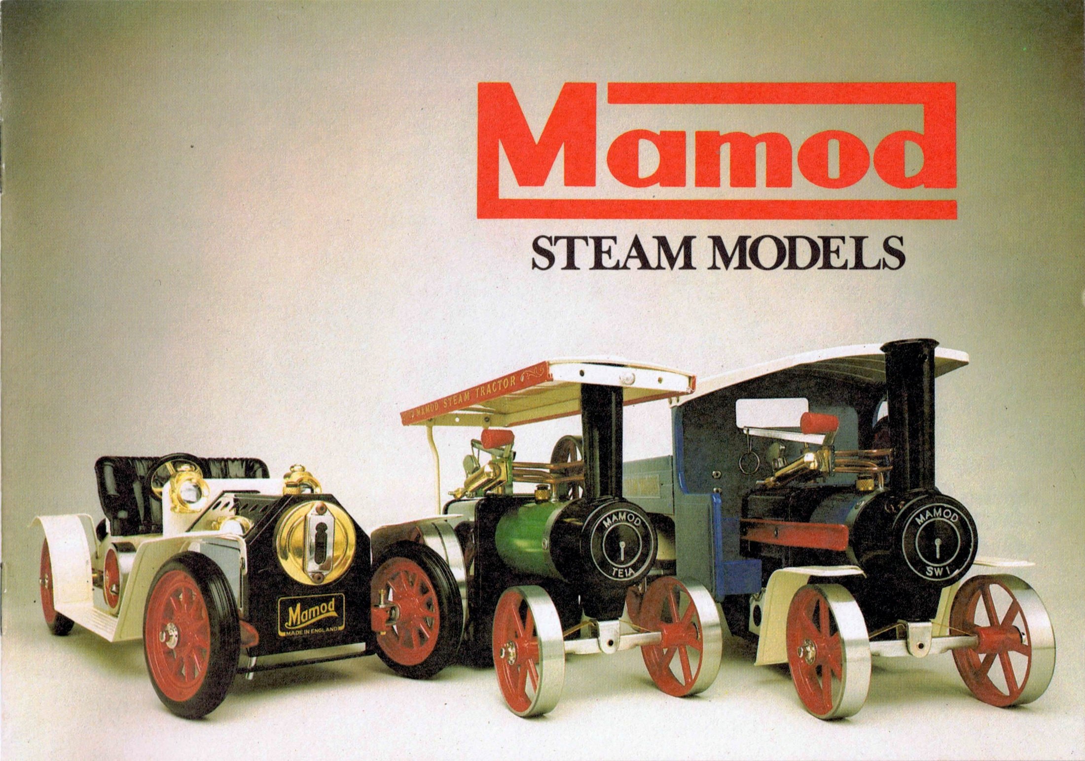 Mamod   U0026quot Malins Models U0026quot    Live Steam Models And Stationary Engines  1935