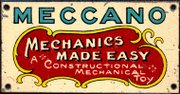 Meccano - Mechanics Made Easy, metal sign.jpg