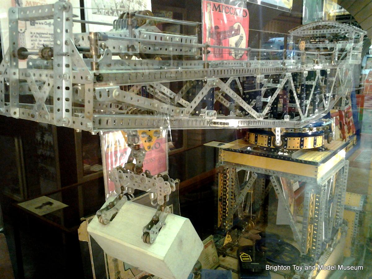 Meccano Giant Block Setting Crane Meccano Super Models No