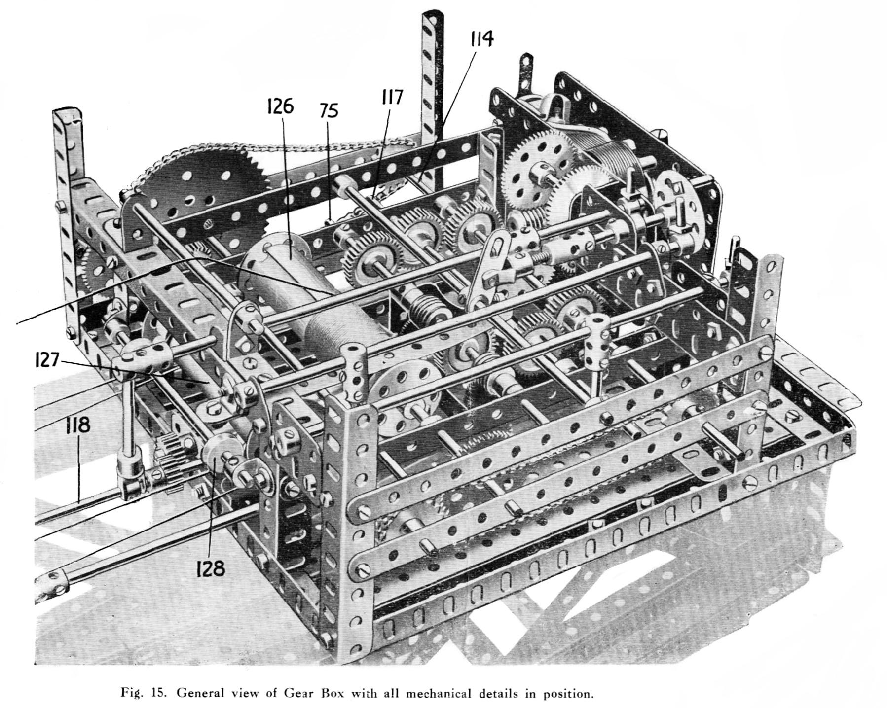 Meccano Giant Block-Setting Crane (Meccano Super Models No 4) - The Brighton Toy and Model Index