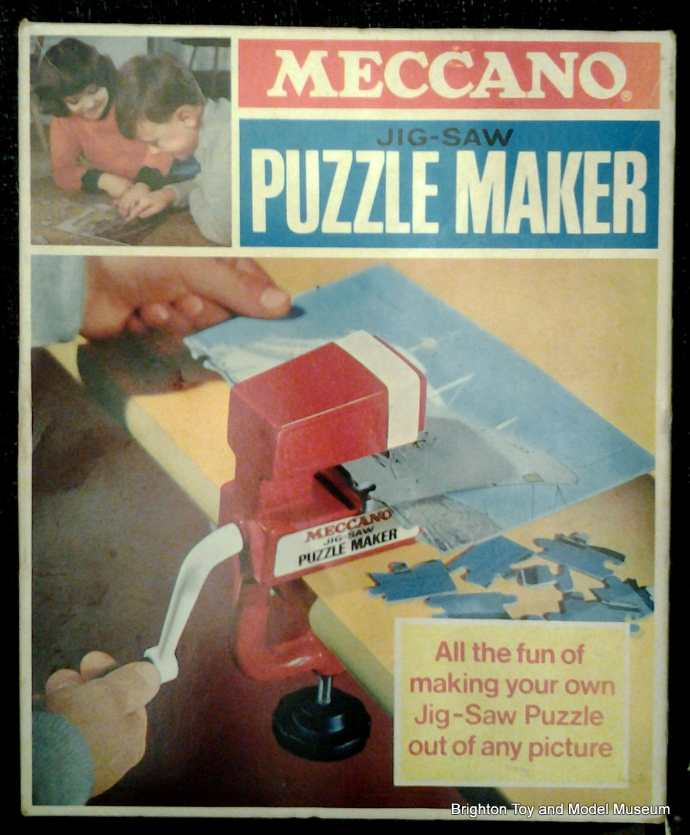 Jig-saw Puzzle Maker (Meccano) - The Brighton Toy and Model Index