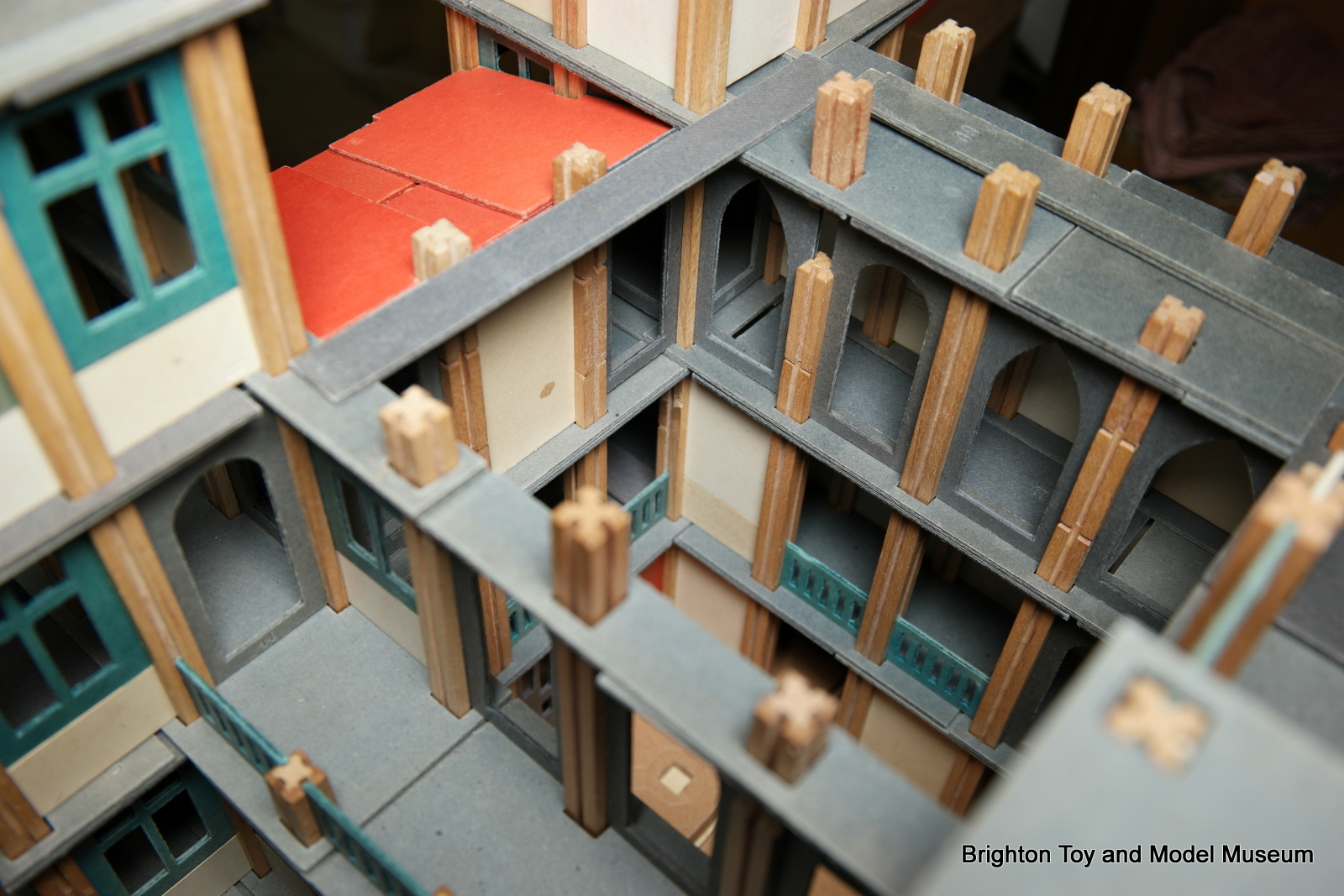 Five-storey model building (Mobaco) - The Brighton Toy and ...