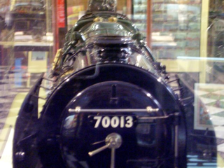 Oliver Cromwell working steam locomotive 70013, 1:12 scale