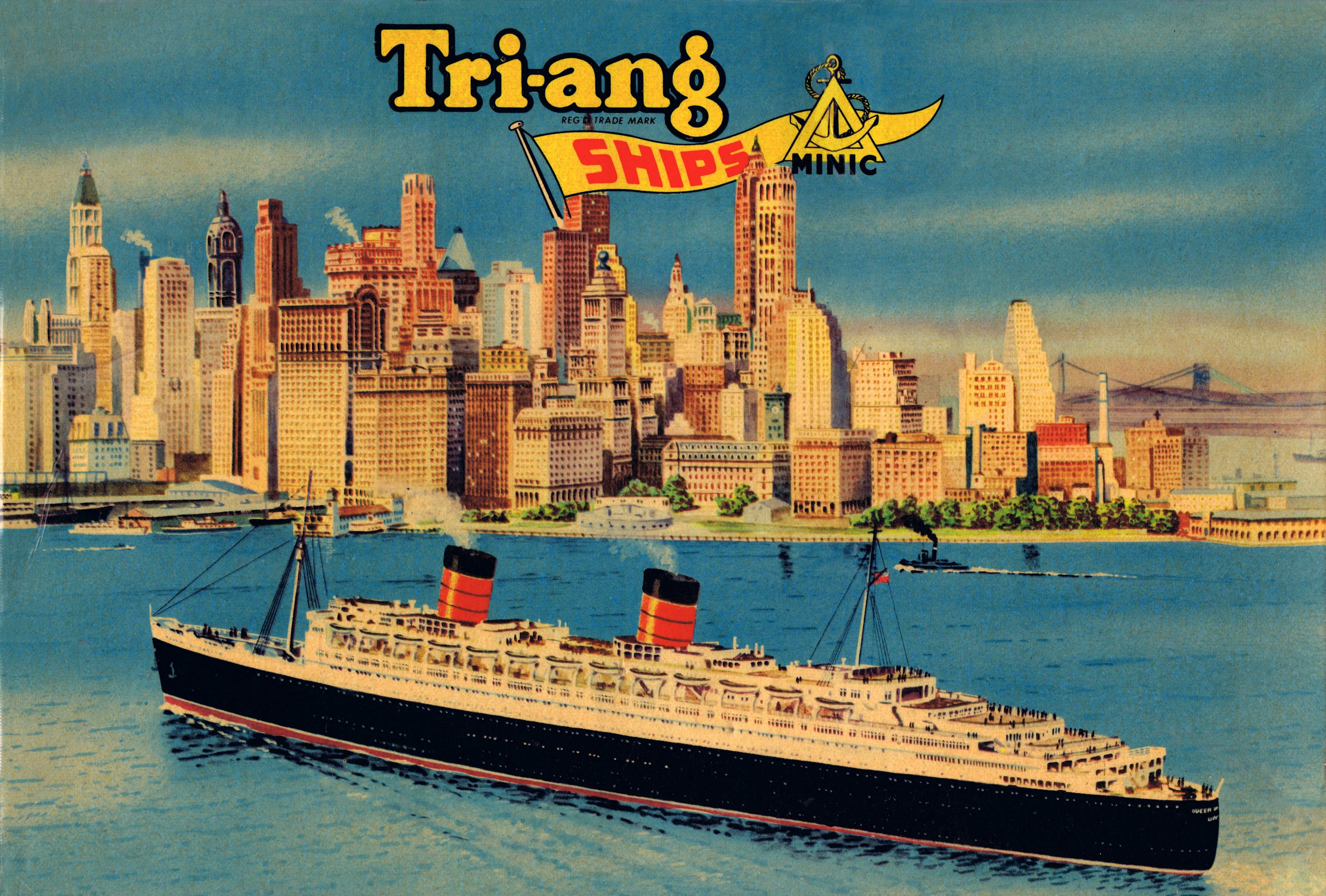 Tri-ang Minic Ships, 1...M Company Logo