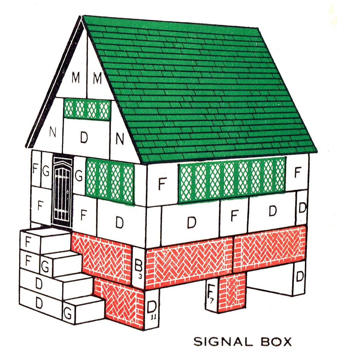 signal cabin lotts lodomo the brighton toy and model index. Black Bedroom Furniture Sets. Home Design Ideas