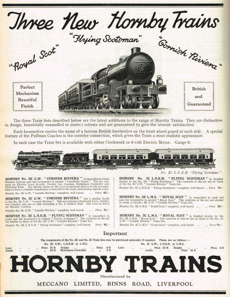 Category:Hornby No3 locomotives - The Brighton Toy and Model