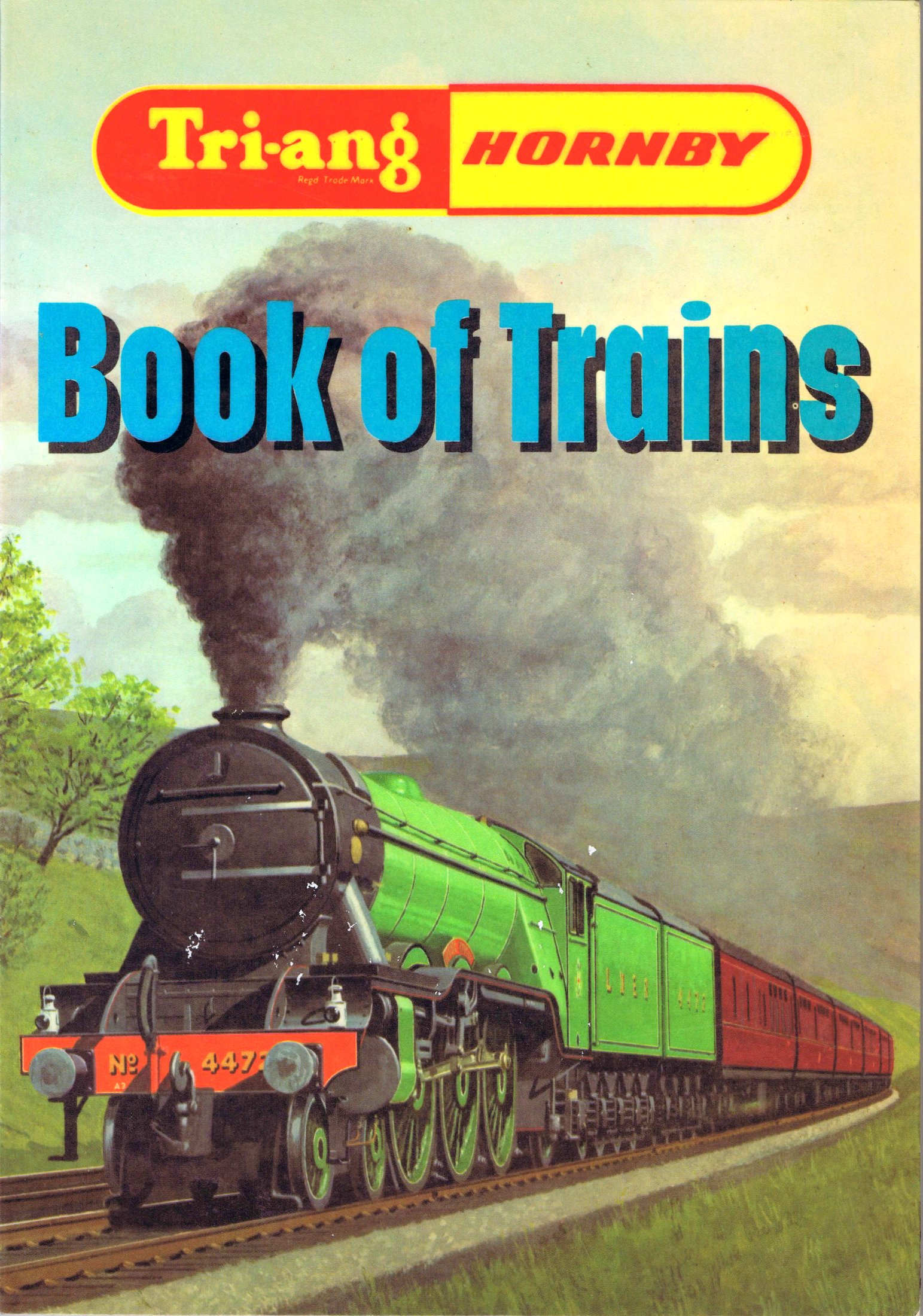 1968 and 1969: Tri-ang Hornby Book of Trains, echoing the old Hornby