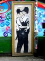 'Kissing Policemen' mural, by Banksy, Brighton.jpg