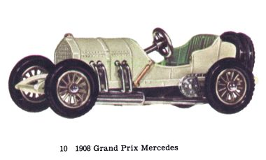 Matchbox Y10 1908 Grand Prix Mercedes