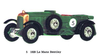 Matchbox Y5 Le Mans Bentley
