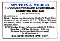A27 Toys and Models, 31 Coombes Terrace, Lewes Road, Brighton (CollGaz 1991-04).jpg