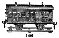 Abteilwagen - Passenger Compartment Carriage, Second Class, Märklin 1856 (MarklinSFE 1900s).jpg