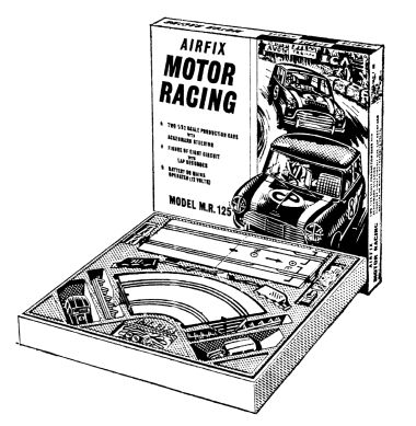 1966 lineart advertising image, set M.R.125