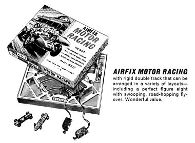 1968 lineart advertising image, set M.R.11