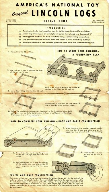 "Lincoln Logs: ""America's National Toy"""