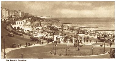 1935: New-look Aquarium and seafront, now without the clock
