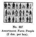 Assortment of Farm People, Britains Farm 657 (BritCat 1940).jpg