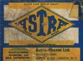 Astra Pharos Limited, box lid label, detail with address.jpg