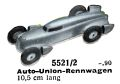 Auto-Union-Rennwagen - Racing Car, Märklin 5521-2 (MarklinCat 1939).jpg
