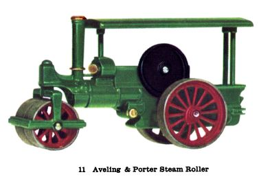 Matchbox Y11 Aveling and Porter Steam Roller