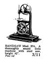 Bandsaw, Working Model (Bowman Model 834).jpg