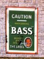 Bass, enamelled tinplate miniature poster.jpg