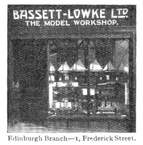 "Bassett Lowke / ""The Model Workshop"", 1 Frederick Street, Edinburgh"