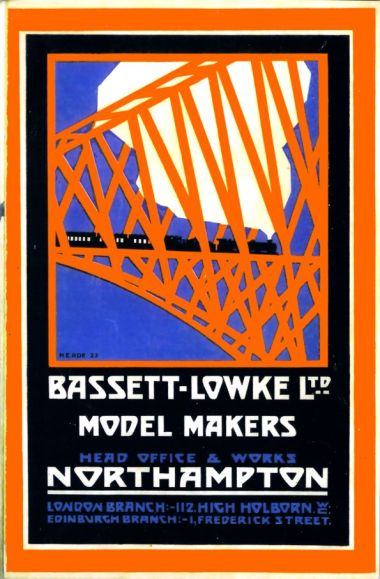 Bassett-Lowke, Model Makers catalogue cover