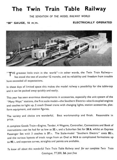 "1937: update advert, mentioning the ""Many-Ways"" stations and the green ""Southern Electric"" train sets"