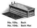 Bath and Bath Mat, Dinky Toys 104a 104b (MM 1936-07).jpg