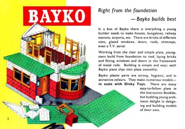 """Right from the foundation – Bayko builds best"""