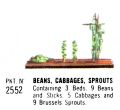 Beans, Cabbages, Sprouts, Britains Floral Garden 2552 (Britains 1966).jpg
