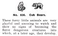 Bear Cubs, Britains Zoo No936 (BritCat 1940).jpg