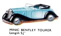 Bentley Tourer, Triang Minic (MinicCat 1950).jpg