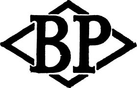 "1931 Beyer Peacock ""BP"" logo"