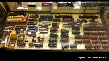 A range of Bing Table Railway pieces in the museum's Collectors' Market (November 2015)