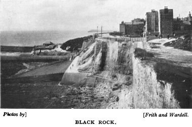 "1933: Black Rock with the ""Bungalow Station"""