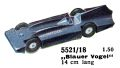 Blauer Vogel - Bluebird Speed Record Car, Märklin 5521-18 (MarklinCat 1939).jpg