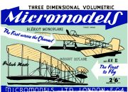 Bleriot Monoplane and Wright Biplane (Micromodels AV2).jpg