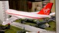Boeing 747 G-VGIN, travel agent mirror split model, Virgin Airlines.jpg