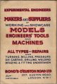 Bond's, Model and Experimental Engineering Handbook 1946, back cover.jpg