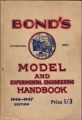 Bond's, Model and Experimental Engineering Handbook 1946, front cover.jpg