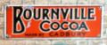 Bournville Cocoa, enamelled tinplate miniature poster.jpg